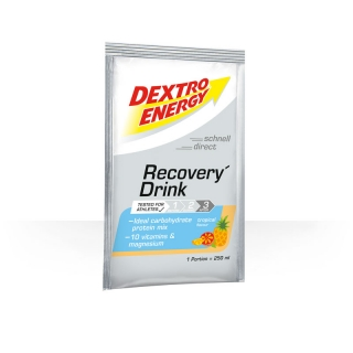 DEXTRO ENERGY Recovery drink Tropical box 14x44.5g